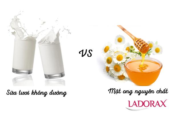 cách làm trắng da bằng sữa tươi